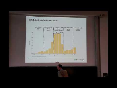 Prof. Dr. Bruno Burger (Fraunhofer ISE, Freiburg): Ist-Zustand der Energiewende – die Energy Charts